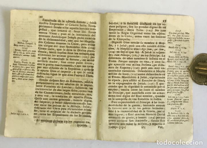 Libros antiguos: ORACION FUNEBRE, EN LAS EXEQUIAS DEL AUGUSTISSIMO SEÑOR EMPERADOR JOSEPH PRIMERO... 1711 - Foto 3 - 147013390