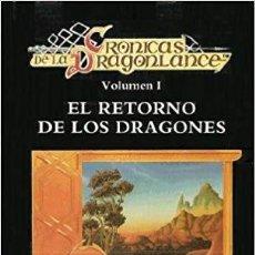 Libros antiguos: CRONICAS DE LA DRAGONLANCE - COLECCIÓN COMPLETA 3 LIBROS. Lote 147017286