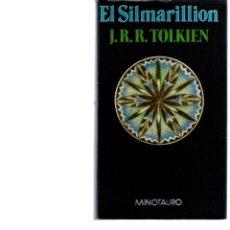 Libros antiguos: EL SILMARILLION - J.R.RTOLKIEN - MINOTAURO. Lote 147019302