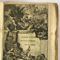 Libros antiguos: PRIMERA DECADA DE LAS GUERRAS DE FLANDES DESDE LA MUERTE DEL EMPERADOR CARLOS V... ESTRADA, FAMIANO.. Lote 147045346