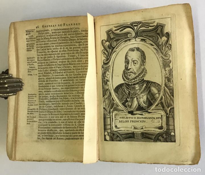 Libros antiguos: PRIMERA DECADA DE LAS GUERRAS DE FLANDES DESDE LA MUERTE DEL EMPERADOR CARLOS V... ESTRADA, Famiano. - Foto 5 - 147045346