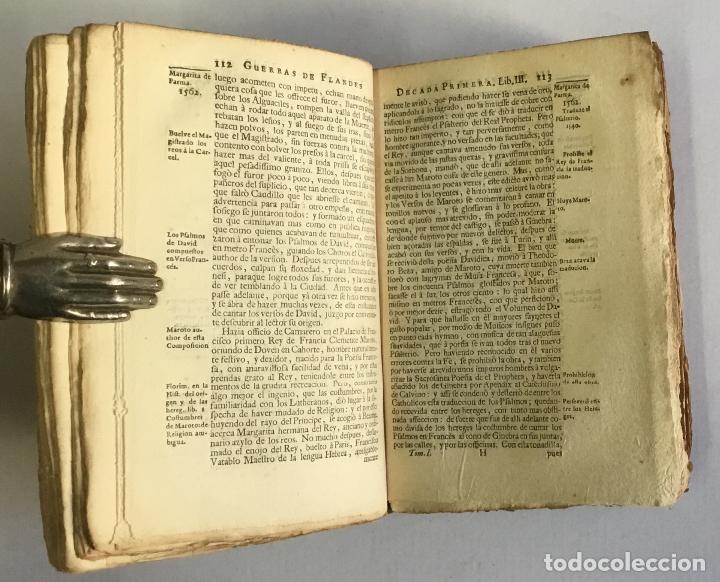 Libros antiguos: PRIMERA DECADA DE LAS GUERRAS DE FLANDES DESDE LA MUERTE DEL EMPERADOR CARLOS V... ESTRADA, Famiano. - Foto 6 - 147045346