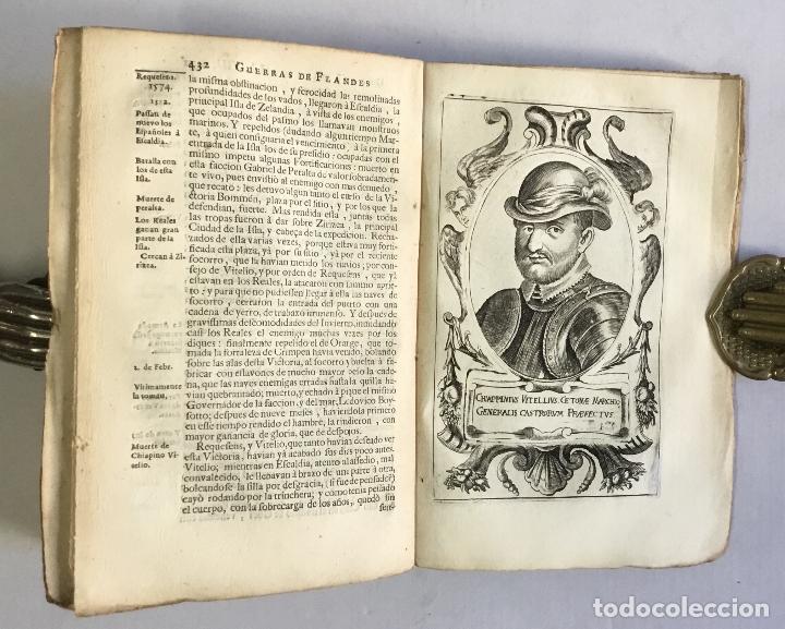 Libros antiguos: PRIMERA DECADA DE LAS GUERRAS DE FLANDES DESDE LA MUERTE DEL EMPERADOR CARLOS V... ESTRADA, Famiano. - Foto 10 - 147045346