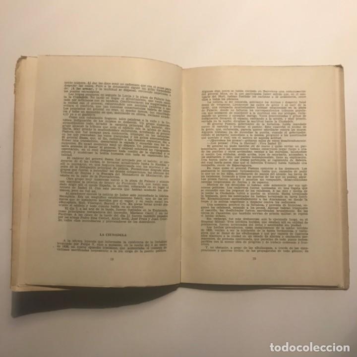 Libros antiguos: Efemérides Barcelonesas Del Siglo XIX - Antonio Vallescá - Ediciones Librería Milla. Autógrafo autor - Foto 4 - 147048822