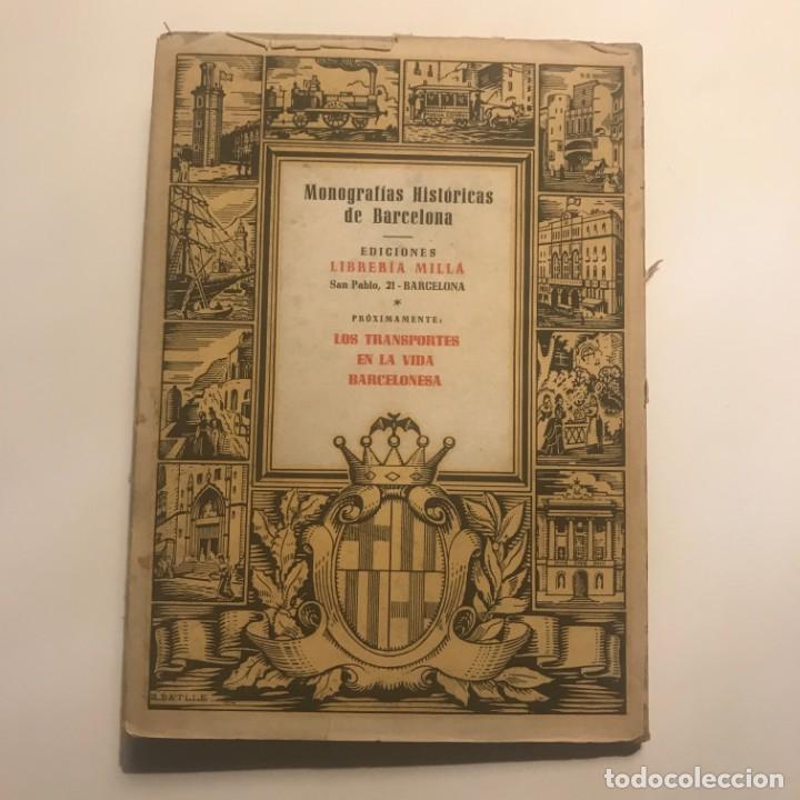 Libros antiguos: Efemérides Barcelonesas Del Siglo XIX - Antonio Vallescá - Ediciones Librería Milla. Autógrafo autor - Foto 5 - 147048822
