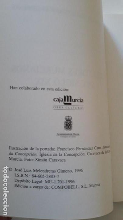 Alte Bücher: Escultores Murcianos del Siglo XIX. José Luis Melendreras Gimeno. Edita Compobell S.L. Murcia. 1996 - Foto 3 - 147101634