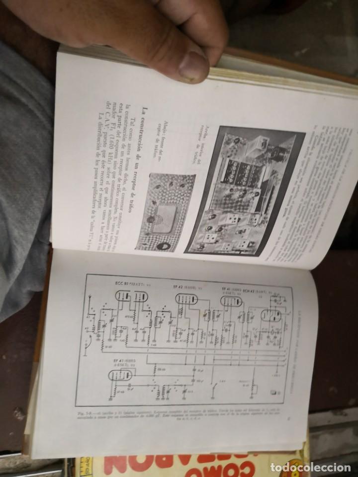 Libros antiguos: Emisión y recepción ondas cortas. EDNS. Marcombo 1961 (305 pág. - 17x24 cm). Encuadernación en tela - Foto 5 - 147103666