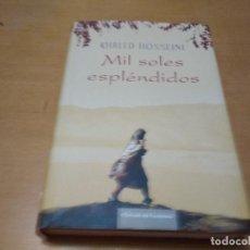 Libros antiguos: KHALED HOSSEINI MIL SOLES ESPLÉNDIDOS. Lote 147107126