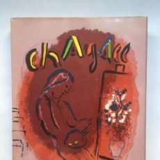 Libros antiguos: CHAGALL LITHOGRAPHE II 1957-1962 - FERNAND MOURLOT - 12 LITHOGRAPHIES ORIGINALES. Lote 147110094