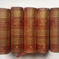 Libros antiguos: AGUILAR - AZORÍN - OBRAS COMPLETAS 9 TOMOS EDICION DE LUJO. Lote 147110234