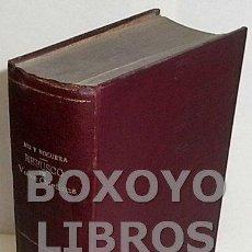 Libros antiguos: MIR Y NOGUERA, JUAN. REBUSCO DE VOCES CASTIZAS. Lote 147178961