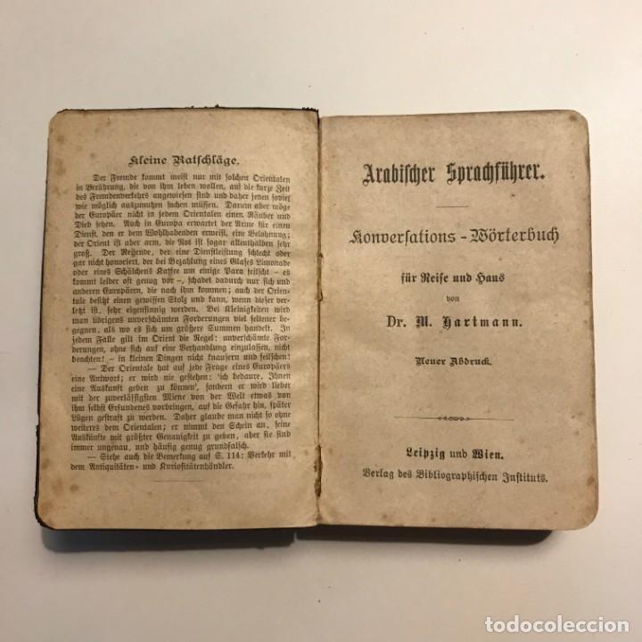 Arabifcher Sprachführer. 1890 - 147186426