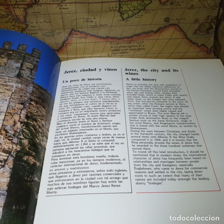 Libros antiguos: LOS VINOS DE JEREZ. JEREZ-XÉRÈS-SHERRY. INFE. CONSEJO REGULADOR DE LA DENOMINACIONES DE ORIGEN. 1985 - Foto 4 - 147324382