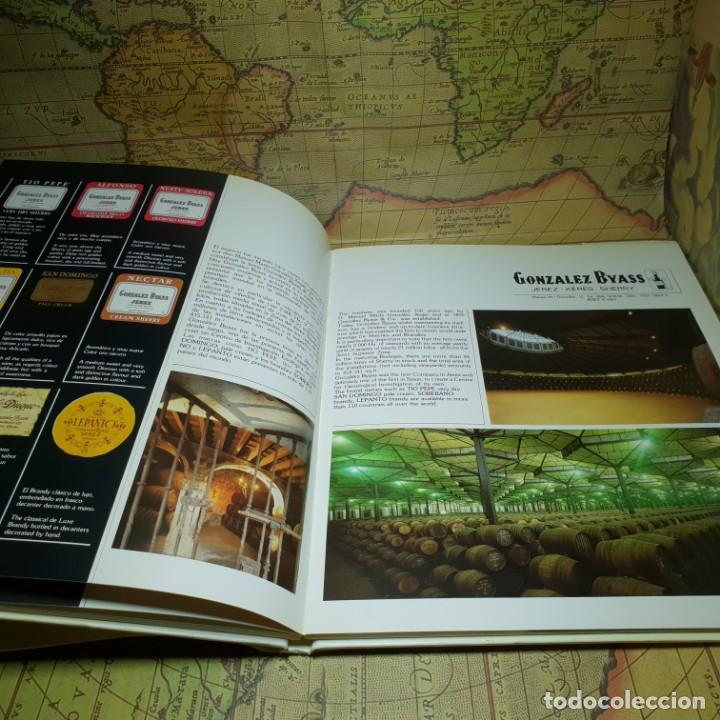 Libros antiguos: LOS VINOS DE JEREZ. JEREZ-XÉRÈS-SHERRY. INFE. CONSEJO REGULADOR DE LA DENOMINACIONES DE ORIGEN. 1985 - Foto 6 - 147324382