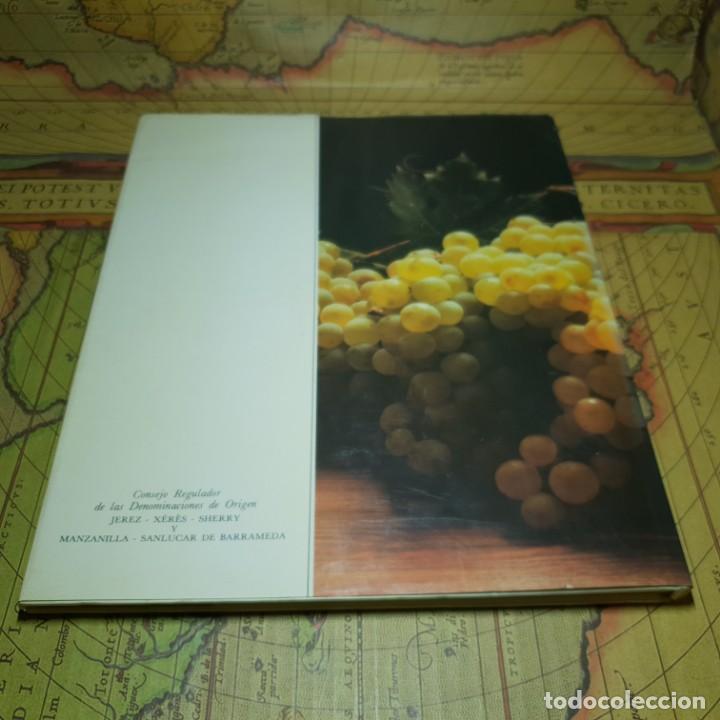 Libros antiguos: LOS VINOS DE JEREZ. JEREZ-XÉRÈS-SHERRY. INFE. CONSEJO REGULADOR DE LA DENOMINACIONES DE ORIGEN. 1985 - Foto 7 - 147324382