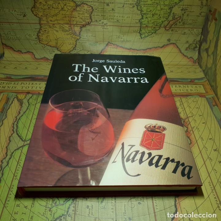 THE WINES OF NAVARRA. JORGE SAULEDA. ICEX 1989. EN INGLÉS. (Libros Antiguos, Raros y Curiosos - Cocina y Gastronomía)