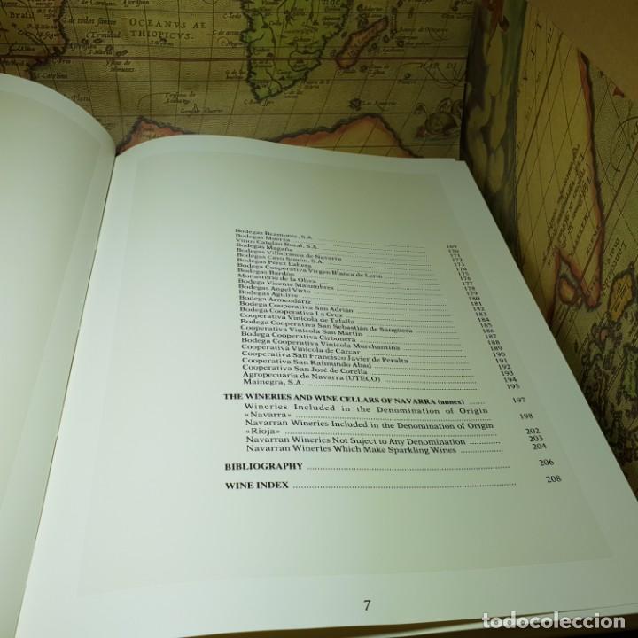 Libros antiguos: THE WINES OF NAVARRA. JORGE SAULEDA. ICEX 1989. EN INGLÉS. - Foto 5 - 147324814