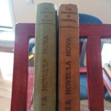 Libros antiguos: LES ESQUADRES DE CATALUNYA-COMPLETA 2 TOMOS-1921-1922-IMPRENTA RAFOLS-ENCUADERNADAS. Lote 147328614