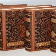 Libros antiguos: CATALUÑA ILUSTRADA. F. CARRERAS Y CANDI. 5 TOMOS. COMPLETA. ED. MARTIN. AÑO 1922.. Lote 147407150