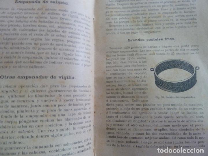 Alte Bücher: EL PASTELERO MODERNO. MANUAL DE PASTELERÍA. SAURI Y SABATER. 1894 - Foto 6 - 147465814