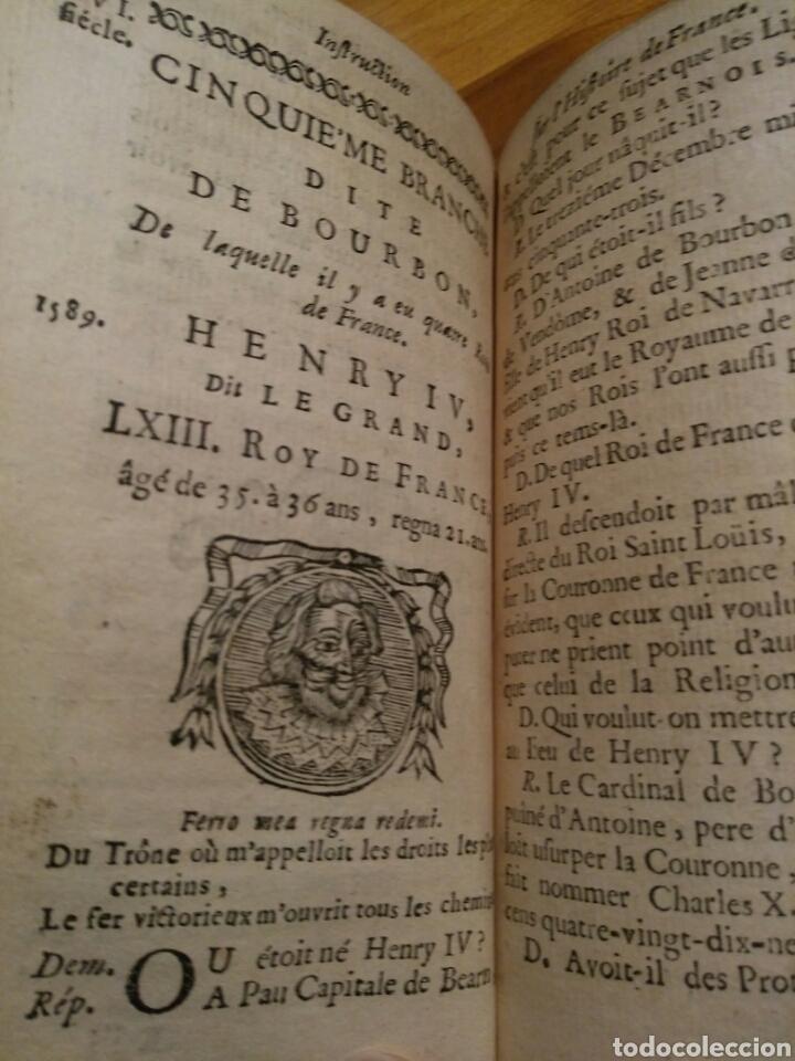INSTRUCTION SUR L'HISTOIRE DE FRANCE ET ROMAINE 1.759 (Alte, seltene und kuriose Bücher - Fremdsprachige Bücher)