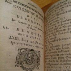 Libros antiguos: INSTRUCTION SUR L'HISTOIRE DE FRANCE ET ROMAINE 1.759. Lote 147466134