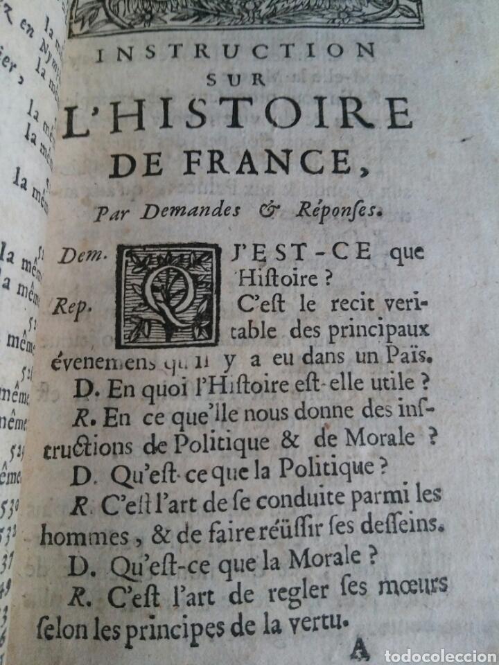 Alte Bücher: Instruction Sur L'histoire de France et Romaine 1.759 - Foto 2 - 147466134