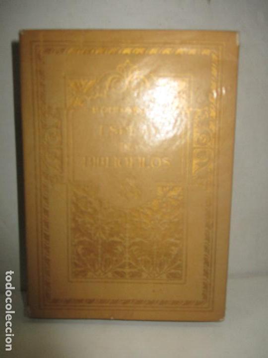 Libros antiguos: ESPEJO DE BIBLIÓFILOS. Novela satírica. BONNARDOT, Alfredo. 1926. BIBLIOFILIA - Foto 2 - 147470006
