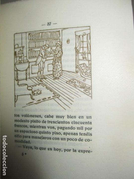 Libros antiguos: ESPEJO DE BIBLIÓFILOS. Novela satírica. BONNARDOT, Alfredo. 1926. BIBLIOFILIA - Foto 4 - 147470006