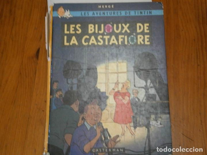 LAS AVENTURAS DE TINTIN ..LES BIJOUX DE LA CASTAFIORIORE (CASTERMAN 1946,1970 AND1974) (Libros Antiguos, Raros y Curiosos - Literatura Infantil y Juvenil - Otros)