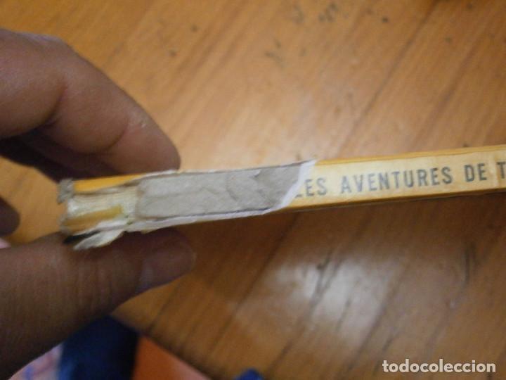 Libros antiguos: LAS AVENTURAS DE TINTIN ..LES BIJOUX DE LA CASTAFIORIORE (CASTERMAN 1946,1970 AND1974) - Foto 5 - 147491298