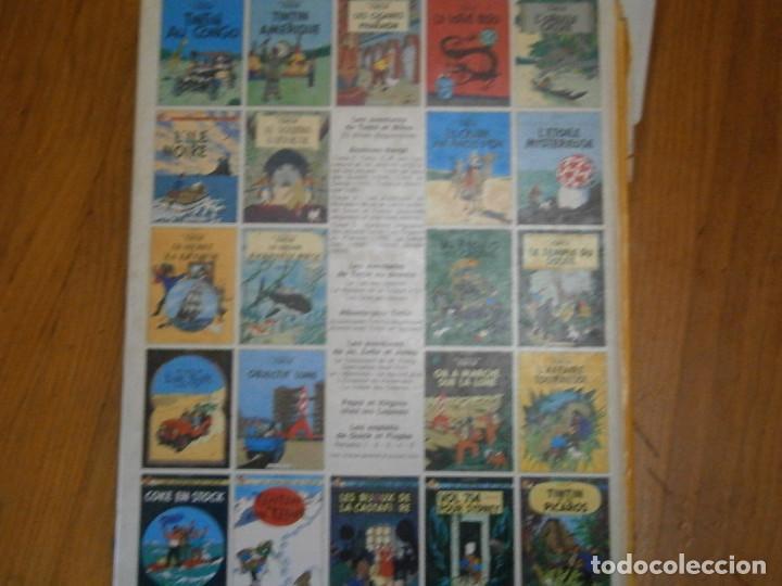 Libros antiguos: LAS AVENTURAS DE TINTIN ..LES BIJOUX DE LA CASTAFIORIORE (CASTERMAN 1946,1970 AND1974) - Foto 6 - 147491298