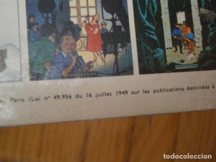 Libros antiguos: LAS AVENTURAS DE TINTIN ..LES BIJOUX DE LA CASTAFIORIORE (CASTERMAN 1946,1970 AND1974) - Foto 7 - 147491298
