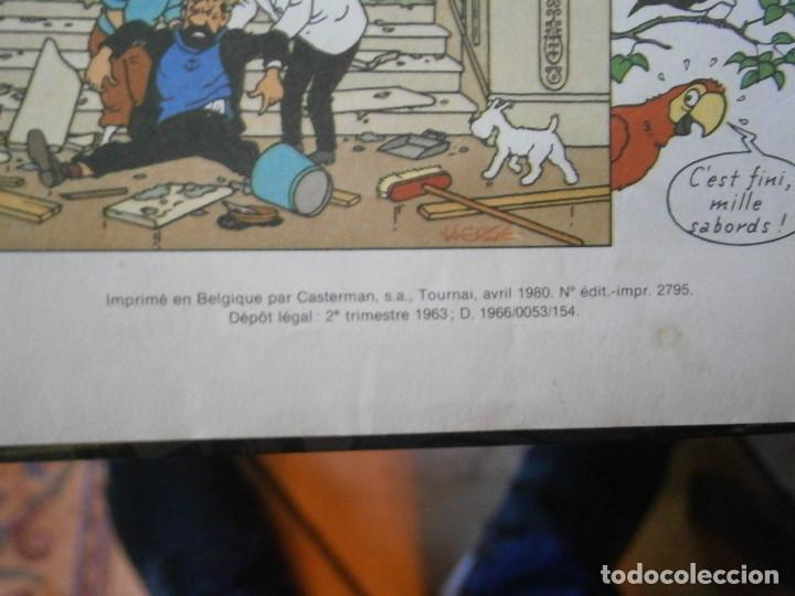 Libros antiguos: LAS AVENTURAS DE TINTIN ..LES BIJOUX DE LA CASTAFIORIORE (CASTERMAN 1946,1970 AND1974) - Foto 9 - 147491298