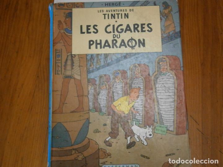 LAS AVENTURAS DE TINTIN -LES CIGARES DU PHARAON (CASTERMAN 1955) (Libros Antiguos, Raros y Curiosos - Literatura Infantil y Juvenil - Otros)