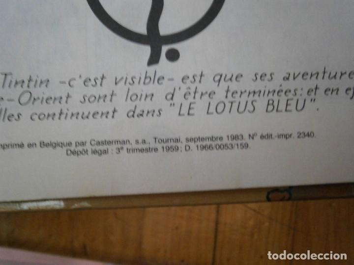 Libros antiguos: LAS AVENTURAS DE TINTIN -LES CIGARES DU PHARAON (CASTERMAN 1955) - Foto 9 - 147491826