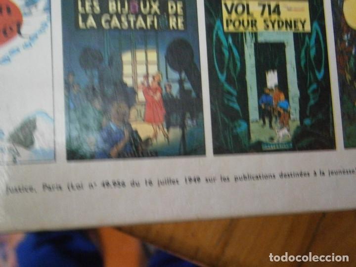 Libros antiguos: LAS AVENTURAS DE TINTIN -LES CIGARES DU PHARAON (CASTERMAN 1955) - Foto 12 - 147491826