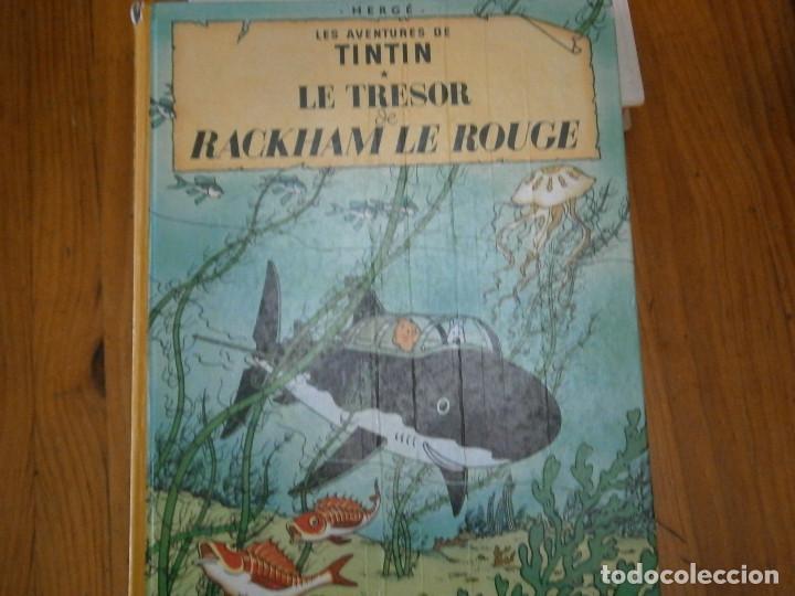 HERGE-LES AVENTURES DE TINTIN ..LE TRESOR DE RACKHAM LE ROUGE (CASTERMAN 1987) (Libros Antiguos, Raros y Curiosos - Literatura Infantil y Juvenil - Otros)