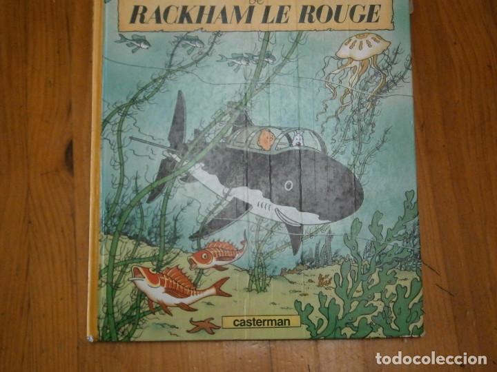 Libros antiguos: HERGE-LES AVENTURES DE TINTIN ..LE TRESOR DE RACKHAM LE ROUGE (CASTERMAN 1987) - Foto 2 - 147494074