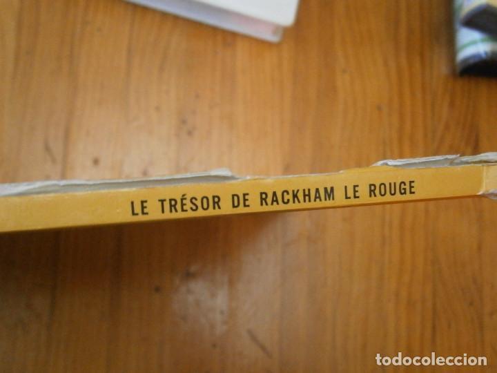 Libros antiguos: HERGE-LES AVENTURES DE TINTIN ..LE TRESOR DE RACKHAM LE ROUGE (CASTERMAN 1987) - Foto 4 - 147494074