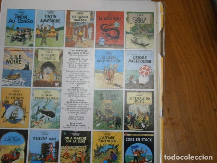 Libros antiguos: HERGE-LES AVENTURES DE TINTIN ..LE TRESOR DE RACKHAM LE ROUGE (CASTERMAN 1987) - Foto 5 - 147494074