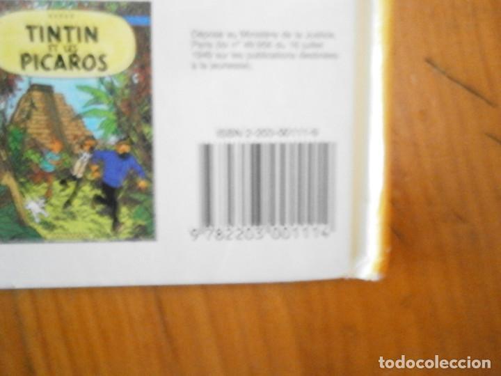 Libros antiguos: HERGE-LES AVENTURES DE TINTIN ..LE TRESOR DE RACKHAM LE ROUGE (CASTERMAN 1987) - Foto 6 - 147494074