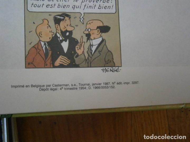 Libros antiguos: HERGE-LES AVENTURES DE TINTIN ..LE TRESOR DE RACKHAM LE ROUGE (CASTERMAN 1987) - Foto 10 - 147494074