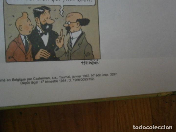 Libros antiguos: HERGE-LES AVENTURES DE TINTIN ..LE TRESOR DE RACKHAM LE ROUGE (CASTERMAN 1987) - Foto 11 - 147494074