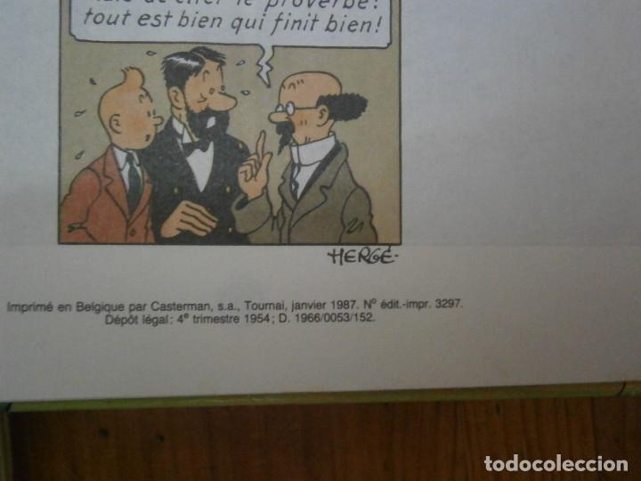Libros antiguos: HERGE-LES AVENTURES DE TINTIN ..LE TRESOR DE RACKHAM LE ROUGE (CASTERMAN 1987) - Foto 12 - 147494074