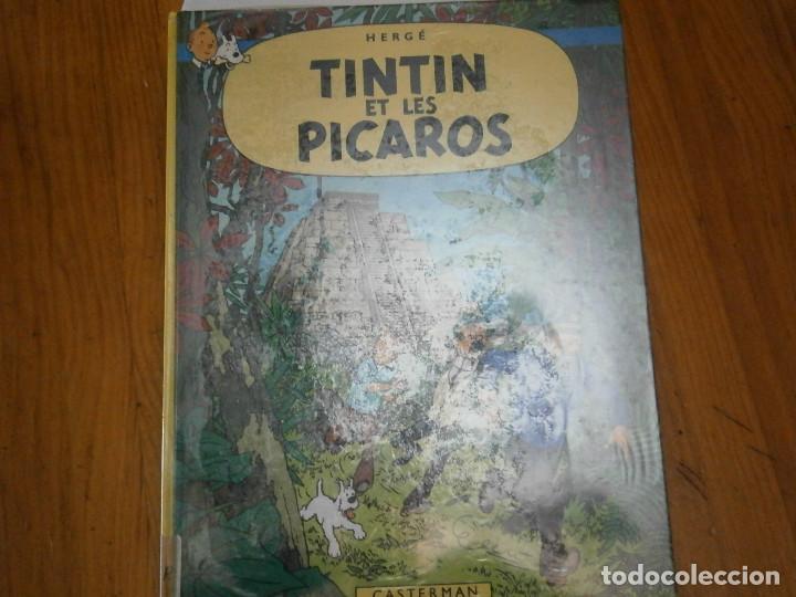 HERGE-TINTIN ET LES PICAROS (CASTERMAN 1976) (Libros Antiguos, Raros y Curiosos - Literatura Infantil y Juvenil - Otros)