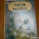 Libros antiguos: HERGE-TINTIN ET LES PICAROS (CASTERMAN 1976). Lote 147494642