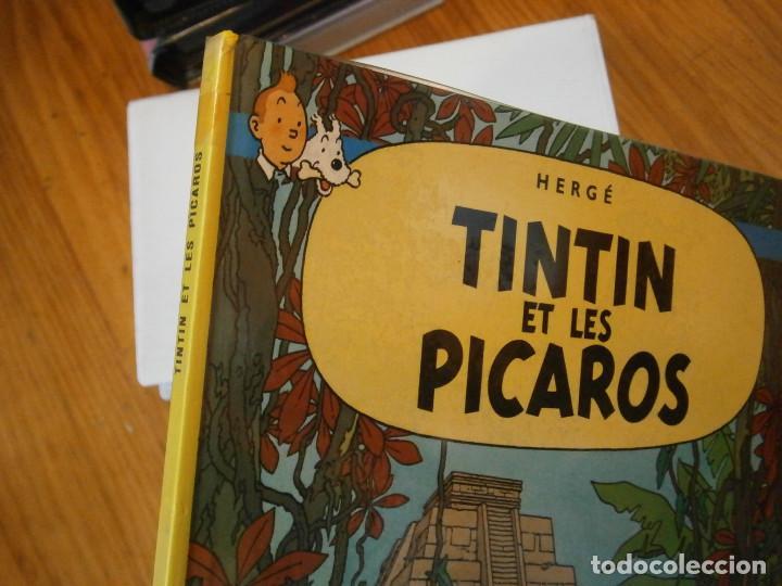 Libros antiguos: HERGE-TINTIN ET LES PICAROS (CASTERMAN 1976) - Foto 3 - 147494642