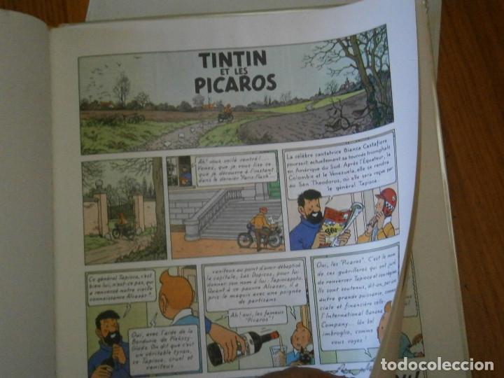 Libros antiguos: HERGE-TINTIN ET LES PICAROS (CASTERMAN 1976) - Foto 10 - 147494642