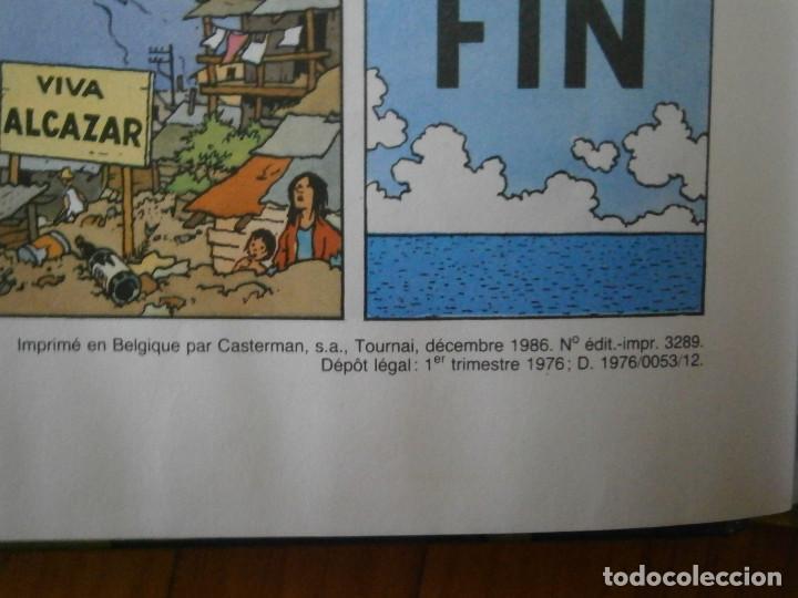 Libros antiguos: HERGE-TINTIN ET LES PICAROS (CASTERMAN 1976) - Foto 12 - 147494642